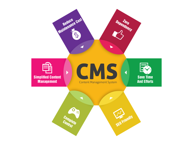 CMS Website Design Company in Mumbai