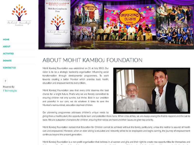 Mohit Kamboj Foundation
